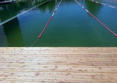 sibirsky smrekovec prirodny bazen