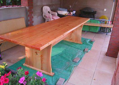 stol na terasu